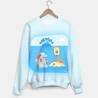 Thumbnail image of Phone Call Sweater, Live Heroes