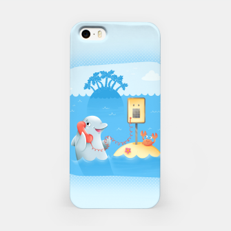 Miniature de image de Phone Call iPhone Case, Live Heroes