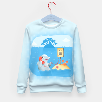 Thumbnail image of Phone Call Kid's Sweater, Live Heroes