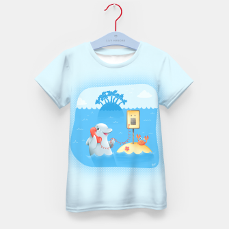 Thumbnail image of Phone Call Kid's T-shirt, Live Heroes