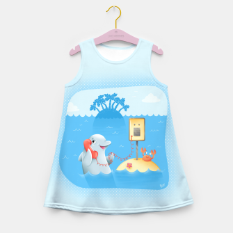 Miniature de image de Phone Call Girl's Summer Dress, Live Heroes