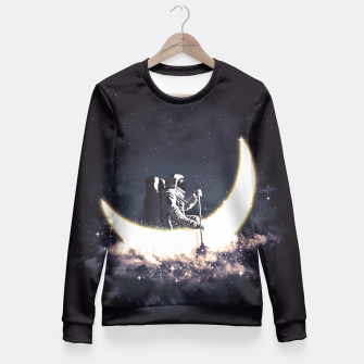 Thumbnail image of Moon Sailing Fitted Waist Sweater, Live Heroes