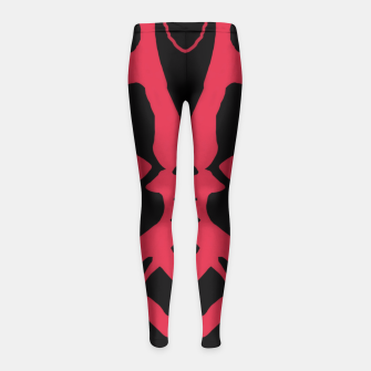 Thumbnail image of Darth Maul Organic Shapes Girl's Leggings, Live Heroes