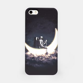 Miniatur Moon Sailing iPhone Case, Live Heroes