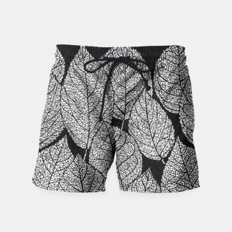 Thumbnail image of Leaves Swim Shorts, Live Heroes