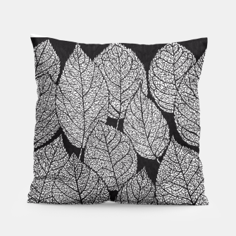 Thumbnail image of Leaves Pillow, Live Heroes