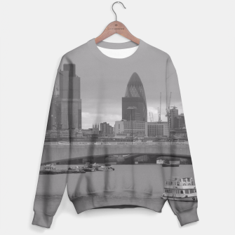 Thumbnail image of Black & White London  Sweater, Live Heroes