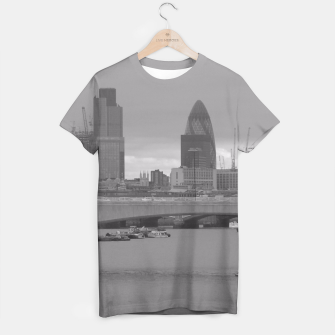 Thumbnail image of Black & White London  T-shirt, Live Heroes