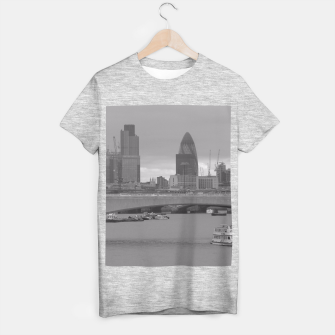 Thumbnail image of Black & White London  T-shirt regular, Live Heroes