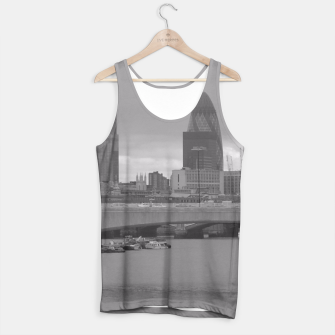 Thumbnail image of Black & White London  Tank Top, Live Heroes