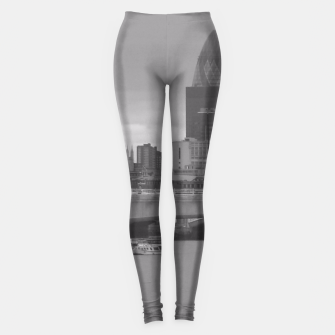 Thumbnail image of Black & White London  Leggings, Live Heroes