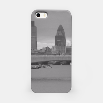 Thumbnail image of Black & White London  iPhone Case, Live Heroes