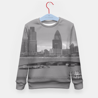 Thumbnail image of Black & White London  Kid's Sweater, Live Heroes