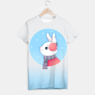 Thumbnail image of Snow Bunny T-shirt, Live Heroes