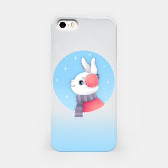 Miniature de image de Snow Bunny iPhone Case, Live Heroes