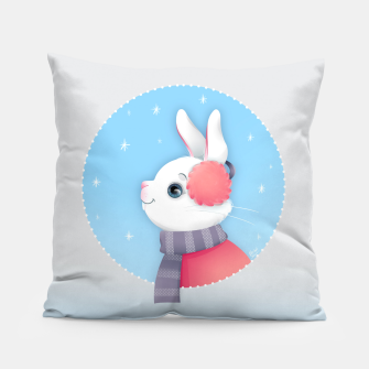 Thumbnail image of Snow Bunny Pillow, Live Heroes