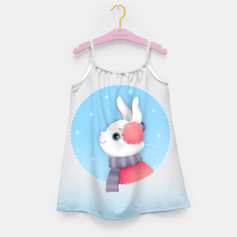 Miniature de image de Snow Bunny Girl's Dress, Live Heroes