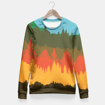 Thumbnail image of Hunting Season Fitted Waist Sweater, Live Heroes