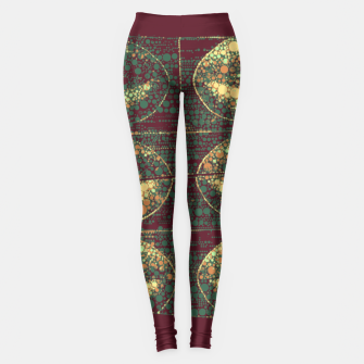 Thumbnail image of Sassy Little Lips Abstract  Leggings, Live Heroes