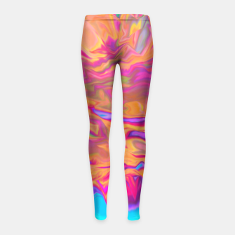 Thumbnail image of Culture Girl's Leggings, Live Heroes