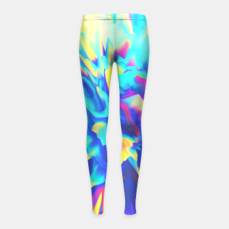 Thumbnail image of Split Girl's Leggings, Live Heroes