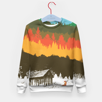 Thumbnail image of Hunting Season Kid's Sweater, Live Heroes