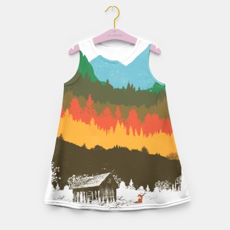 Thumbnail image of Hunting Season Girl's Summer Dress, Live Heroes