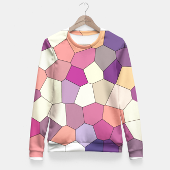 Thumbnail image of Retro COLORS Fitted Waist Sweater, Live Heroes