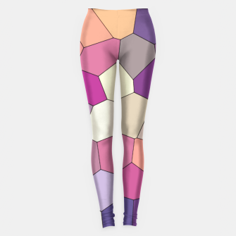 Thumbnail image of Retro COLORS Leggings, Live Heroes