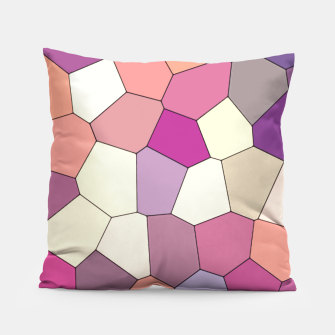Thumbnail image of Retro COLORS Pillow, Live Heroes