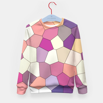 Thumbnail image of Retro COLORS Kid's Sweater, Live Heroes