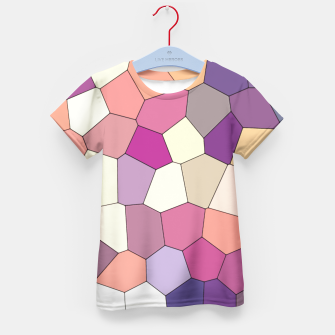 Thumbnail image of Retro COLORS Kid's T-shirt, Live Heroes