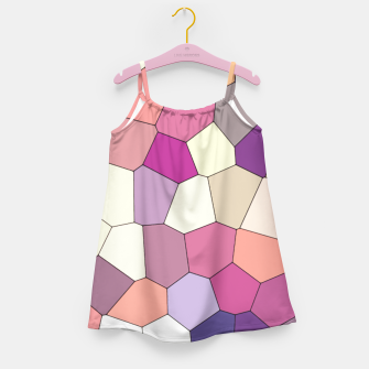 Thumbnail image of Retro COLORS Girl's Dress, Live Heroes