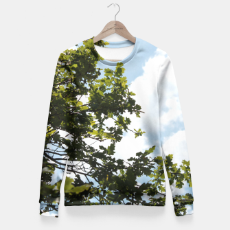 Thumbnail image of On the other side of the sky Fitted Waist Sweater, Live Heroes