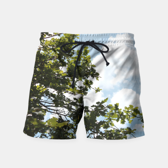 Thumbnail image of On the other side of the sky Swim Shorts, Live Heroes