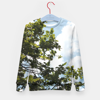 Thumbnail image of On the other side of the sky Kid's Sweater, Live Heroes
