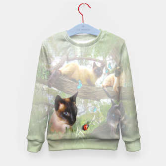 Thumbnail image of Sophie's Garden Kid's Sweater, Live Heroes