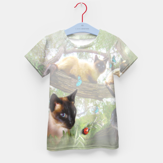Thumbnail image of Sophie's Garden Kid's T-shirt, Live Heroes
