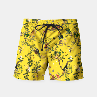 Monkey World yellow Swim Shorts thumbnail image