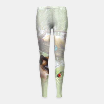 Thumbnail image of Sophie's Garden Girl's Leggings, Live Heroes