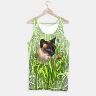 Thumbnail image of Shopie among tall grass Tank Top, Live Heroes
