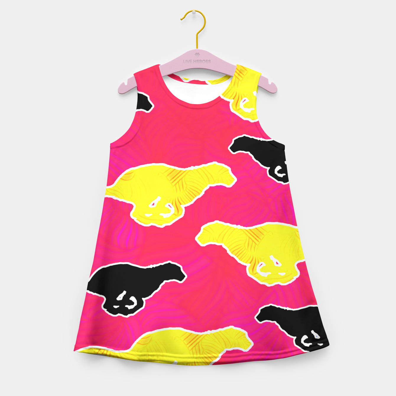 Image of ctah1 Girl's Summer Dress - Live Heroes