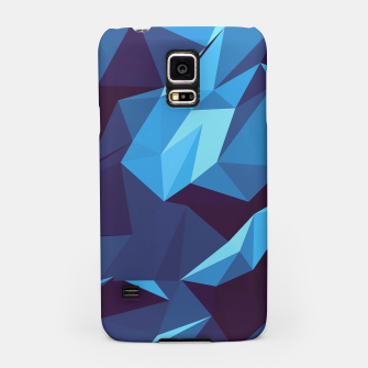 Thumbnail image of Blue Geometric Pattern Handyhülle für Samsung, Live Heroes