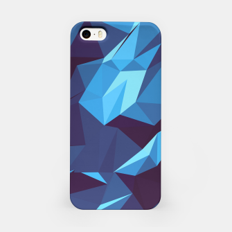 Thumbnail image of Blue Geometric Pattern iPhone-Hülle, Live Heroes