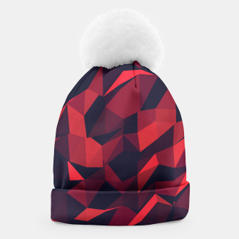 Thumbnail image of Red Geometric Pattern Mütze, Live Heroes