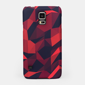 Thumbnail image of Red Geometric Pattern Handyhülle für Samsung, Live Heroes
