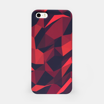 Thumbnail image of Red Geometric Pattern iPhone-Hülle, Live Heroes