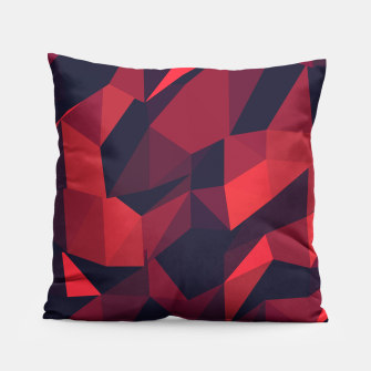 Thumbnail image of Red Geometric Pattern Kissen, Live Heroes