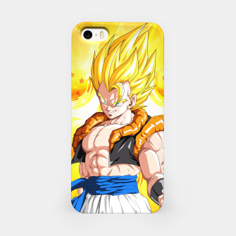 Miniatur Dragon Ball - Super Gogeta  iPhone Case, Live Heroes