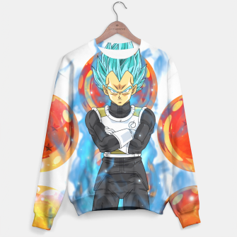 Dragon Ball Super Vegeta Super Saiyan Blue Sweater miniature